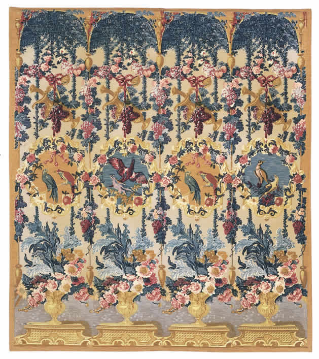 Fleur De Lys Tapestries History Of Wall Hanging Tapestries